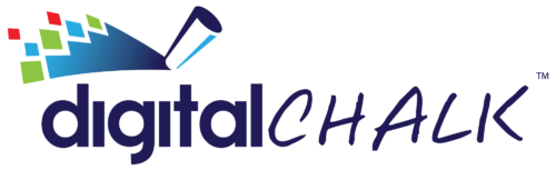 Digital chalk logo