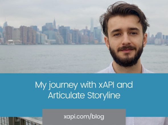 xAPI blog journey with xAPI and Articulate Storyline