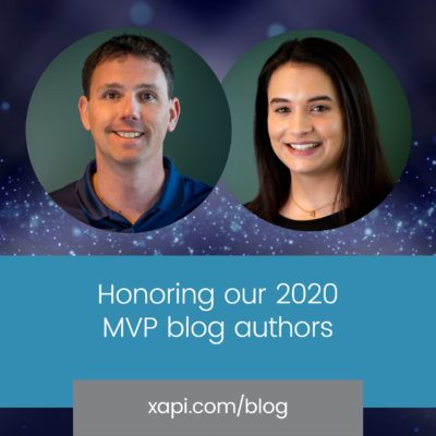 xapi blog 2020 MVP authors